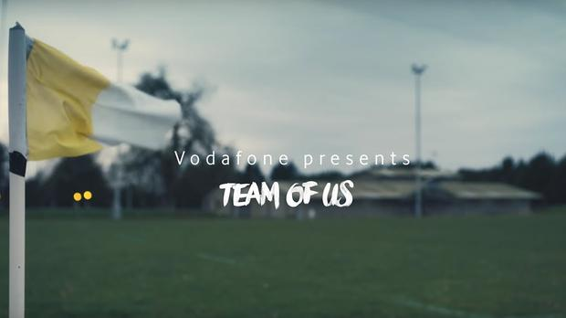 Vodafone rugby ad