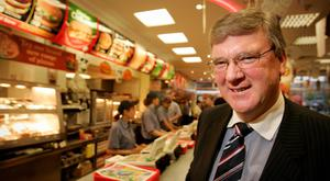 Expansion at Supermac's and at founder Pat McDonagh's separate hotel business is set to add 300 jobs across the country. Photo: Gerry Mooney