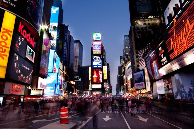 Norway's sovereign wealth fund owns real estate on Times Square in New York