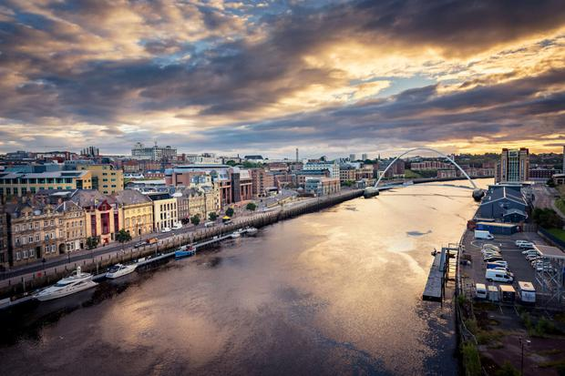 Technical revolution: Newcastle upon Tyne is maturing into a forward-thinking arts and tech hub of the North East of England