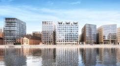 Johnny Ronan's docklands-situated Project Waterfront will be among the schemes in the capital vying to accommodate KPMG's 2,500-strong Dublin workforce as tenants