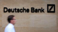 Deutsche Bank has decided that none of the more than $4bn (€3.5bn) it promised to spend on consumer relief after the global mortgage crisis will go to distressed US homeowners. Stock photo: PA