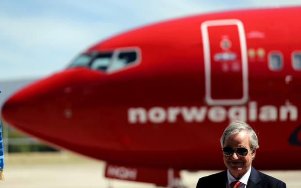 Flight plan: Norwegian Air's CEO and its chairman agreed to sell some of their subscription rights to a share issue at a discount, in a deal that will help the loss-making carrier raise cash