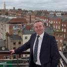 Building on success: An Bord Pleanála chairman Dave Walsh says it will continue to prioritise housing applications