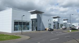 For auction: Unit 24, Claregalway Corporate Park, has a €400,000 AMV and comprises four ground floor units, with 17 first floor office units, communal canteen and toilets
