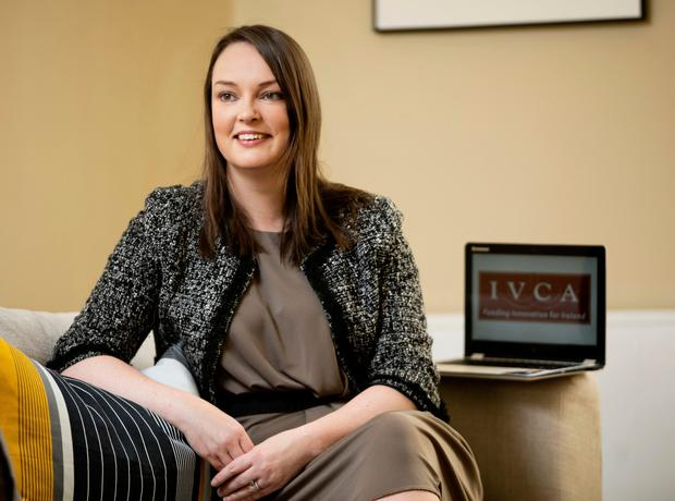 Cash support: Irish Venture Capital Association director-general Sarah-Jane Larkin says VC backing is the main source of funding for 'innovative' Irish SMEs. Photo Chris Bellew/ Fennell Photography