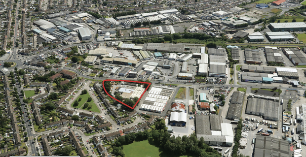 The Walkinstown Roundabout site