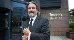 Thinking big: Developer Johnny Ronan's firm has applied to raise height of offices to 11 storeys
