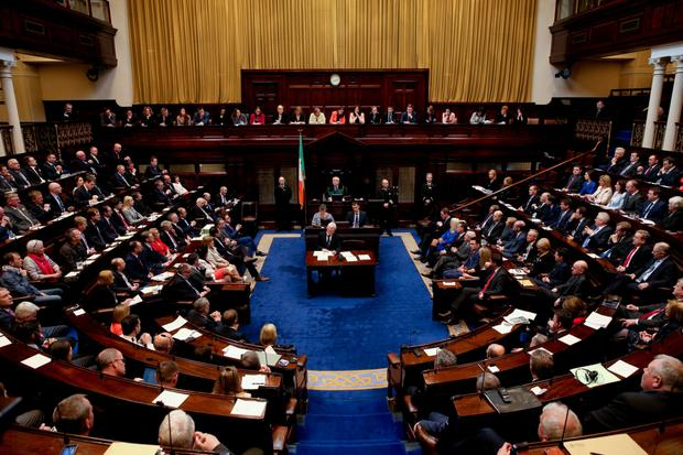 'If any party gets as many as 60 seats in the next 160-seat Dail, it will be doing well.' Stock picture