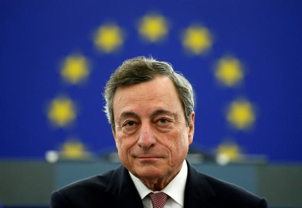 Rates: European Central Bank (ECB) President Mario Draghi. Photo: REUTERS