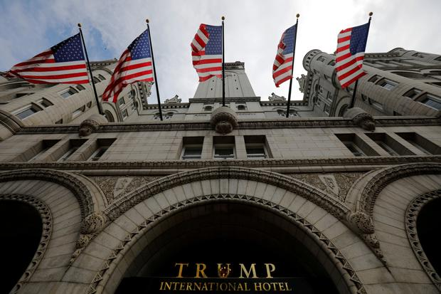 Mobile spent $195,000 at Trump Hotel in D.C. since merger announcement