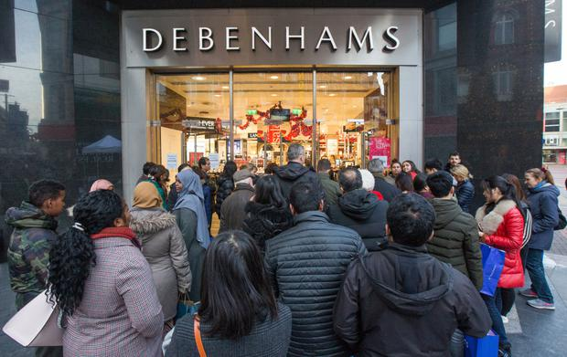Debenham's shares soar after Ashley's push for executive role