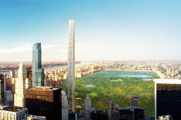 Land of opportunity: Michael Stern is also co-developer of a skyscraper on West 57th St in New York where the penthouse is listed for sale at €57m