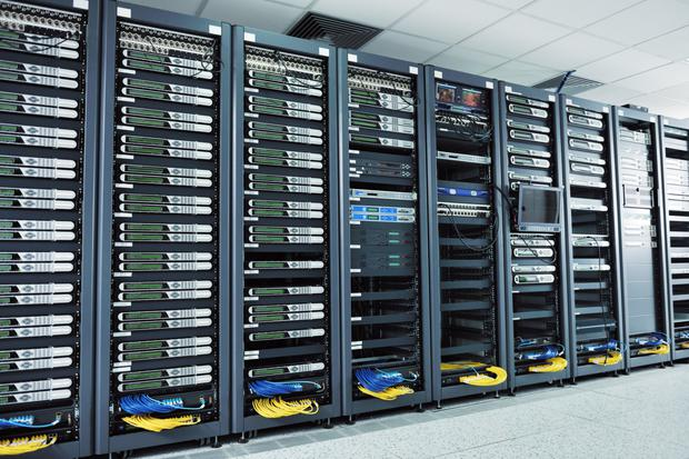 Big server: The data centre has been described as 'a game-changer' for Ennis and for Clare. Stock image