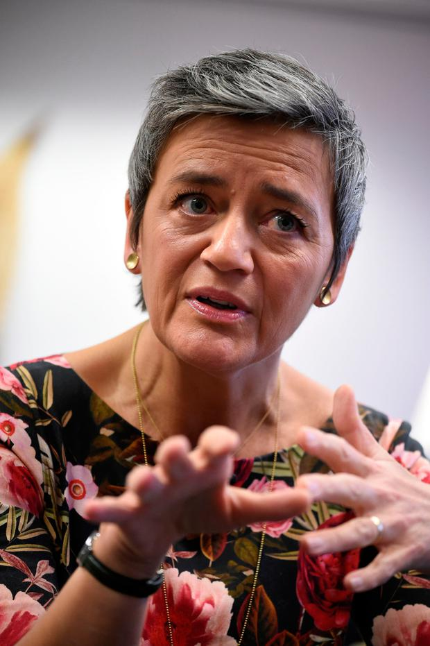 European Competition Commissioner Margrethe Vestager. Photo: Getty