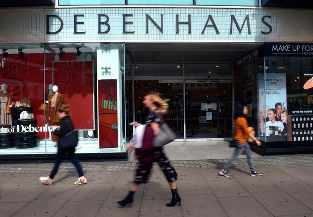 Offer: Loan would be interest-free if Debenhams agreed to give Sports Direct another 5pc of its equity without the normal obligation to make a full takeover bid. Photo: PA