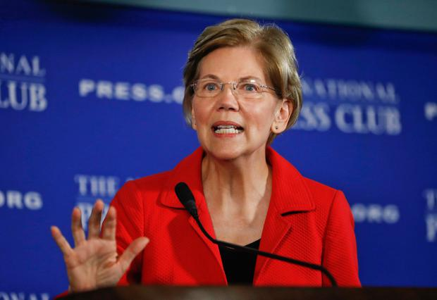 Senator Elizabeth Warren: on a mission to break up Big Tech