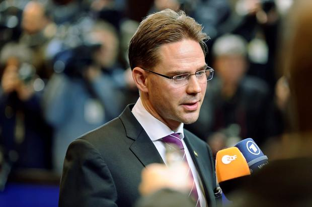 Negotiations: European Commission vice-president Jyrki Katainen