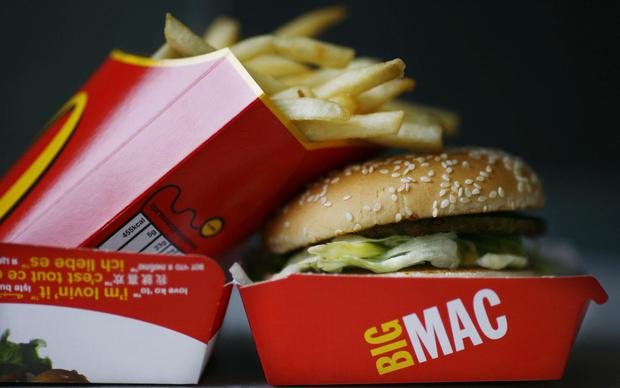 Name game: Supermac's MD Pat McDonagh says the Big Mac appeal is a delaying tactic aimed at denting his firm's plans. Stock image
