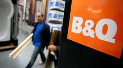 DIY: The B&Q chain is owned by the UK-based Kingfisher group