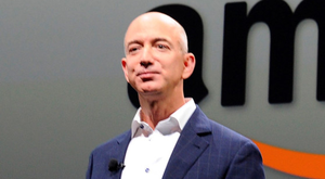 Delivering: Amazon founder Jeff Bezos is the world's richest man with an estimated fortune of $131bn. Photo: Joe Klamar
