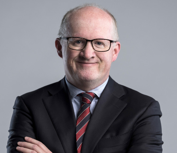 'Outstanding economist': Central Bank Governor Philip Lane will be the first Irish person to sit on the six-member ECB executive board. Photo: Bloomberg