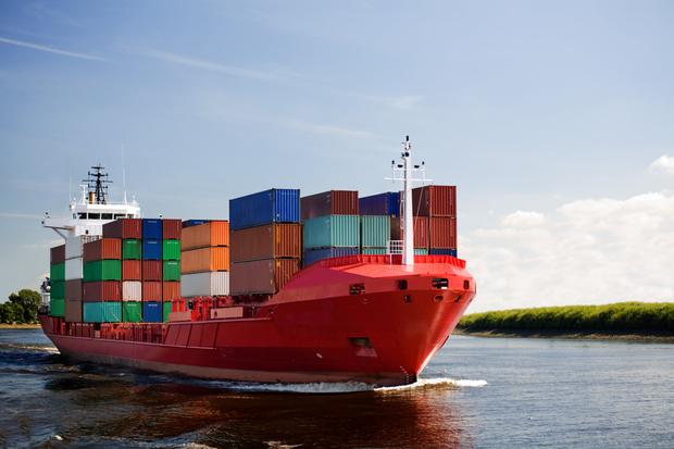 Good year: exports rose 8.9pc with the trade surplus at a record high of €1bn a week. Stock image