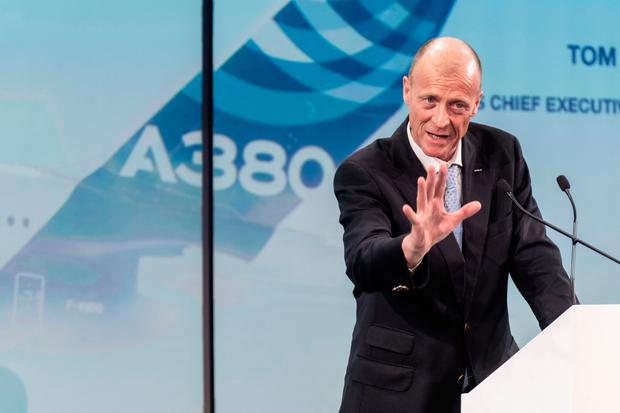 Airbus CEO Tom Enders