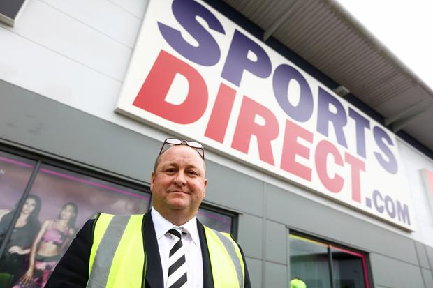 Sports Direct said after market close on Monday it was considering making an offer to buy Debenhams to save the beleaguered department store chain.