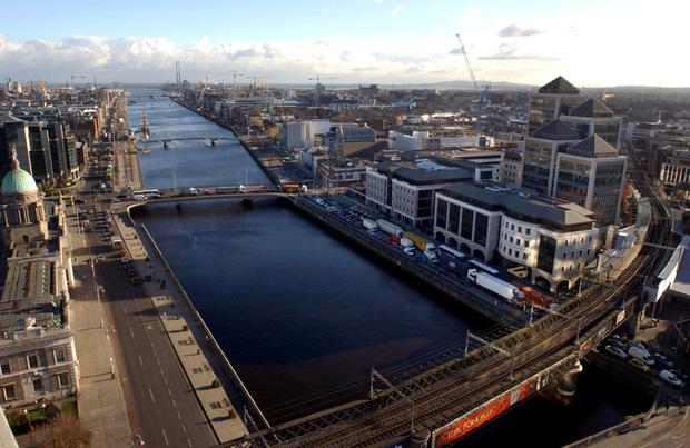 Upbeat: Starwood said Dublin features low prime-office vacancy rates