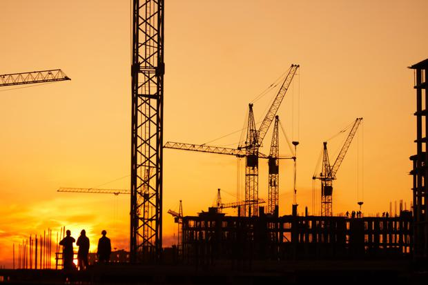 On the up: Listed property have helped kick-start a building boom which has generated tens of thousands of construction jobs. Stock photo