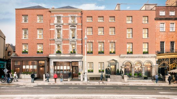 Motoring ahead: An artist's impression of the €35m plan