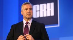 Cash plans: CRH chief executive Albert Manifold is eyeing a mix of dividends and buybacks