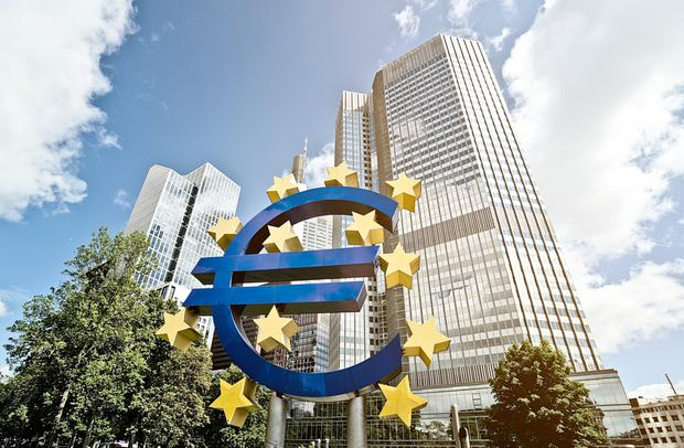 Programme: the Frankfurt-based ECB has purchased more than €30bn of Irish government bonds. Photo: Felix Pergande