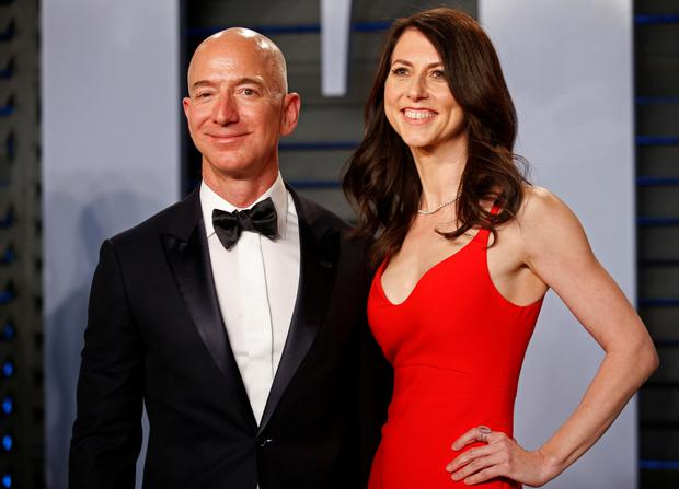 Jeff and MacKenzie Bezos' divorce deal sees him retain control of the online giant