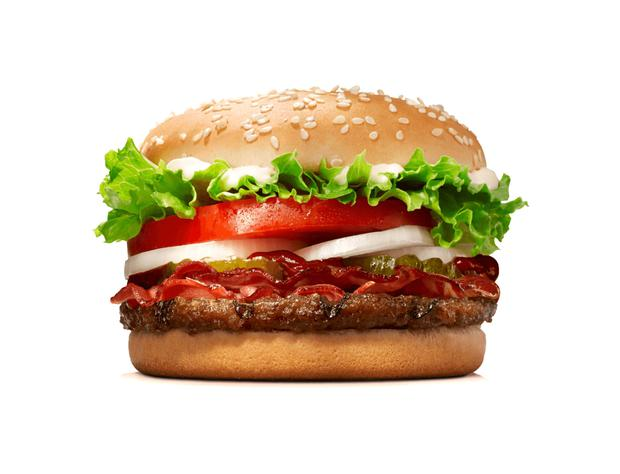Burger King Whopper - a meat free version is being trialled