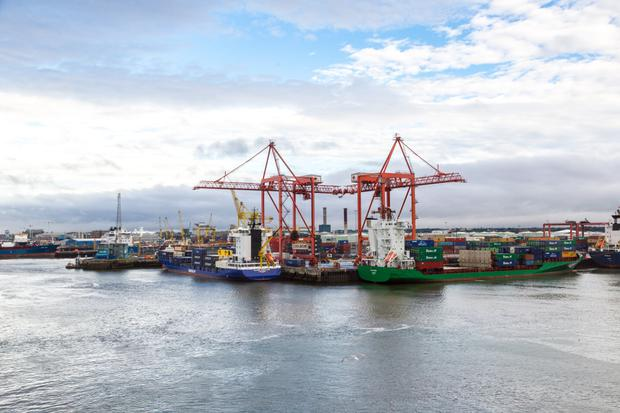 Squeeze: Dublin Port has lost eight hectares of port lands to State agencies for secondary inspection facilities required after Brexit