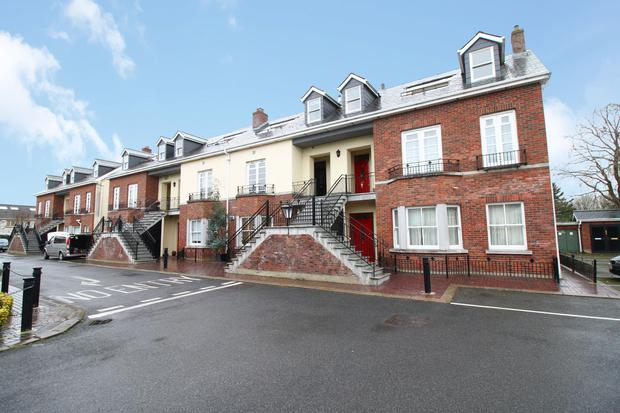 Strong performer: A lot of seven dwellings at Anley Court, Lucan, West Dublin, sold for €1.6m, 6.7pc over its €1.5m guide price, at a recent online property auction