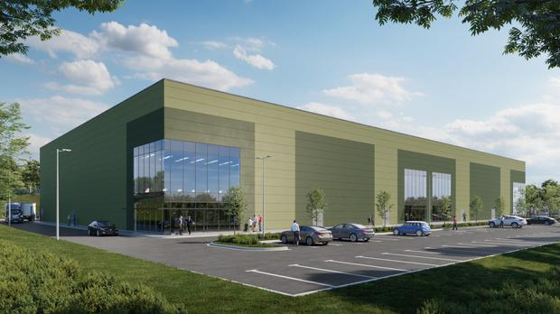 Demand: Industrial premises being developed by JCD at Blarney Business Park, Cork