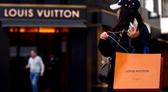 Sales growth: Louis Vuitton increases its popularity among young Chinese shoppers