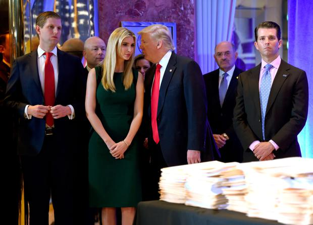 US President Donald Trump ruled out daughter Ivanka over fears of fuelling nepotism claims