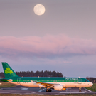An Aer Lingus plane at Cork Airport