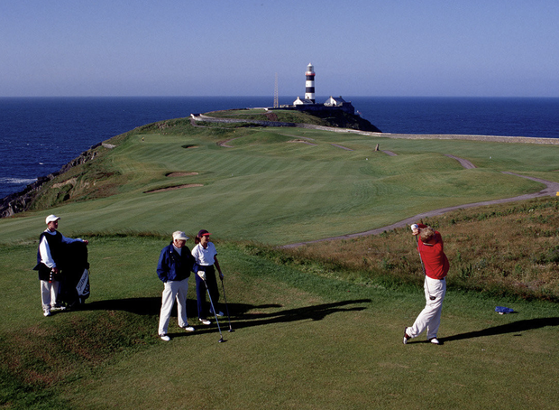 Tourism Ireland is showcasing Ireland as the 'Home of the Champions' , as it bids to woo high-spending golfers