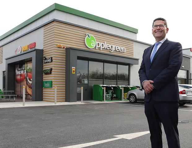 Joe Barrett, chief operating officer of Applegreen. Picture: Damien Eagers