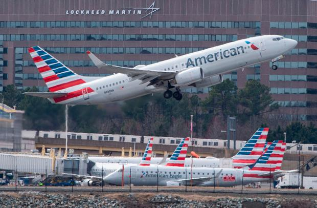 Grounded: American Airlines has cancelled hundreds of Boeing 737 MAX flights