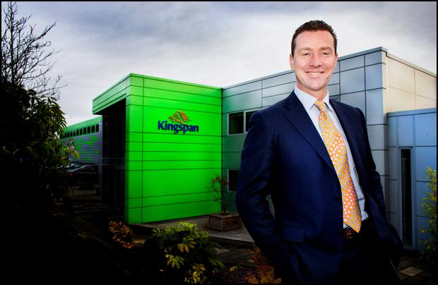 Kingspan CEO Gene Murtagh has led European expansion at the group