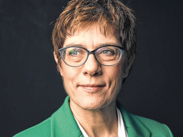 New era: Annegret Kramp-Karrenbauer, known as AKK, took over as leader of the Christian Democrat Union (CDU) party from Angela Merkel. Photo: Simon Dawson/Bloomberg