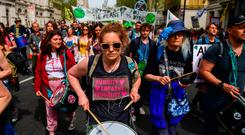 On the march: Many would probably agree with the Extinction Rebellion protesters that climate change is a serious problem – but it gets trickier when it really hits people in the pocket