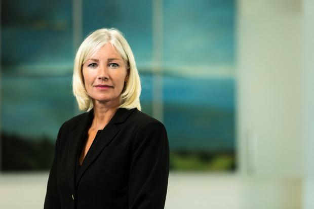 Backing: Ulster Bank CEO Jane Howard