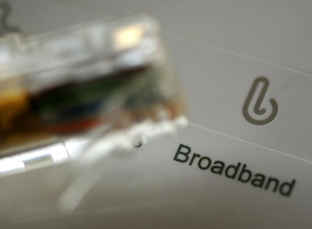 'Some will say this broadband technology can be provided nationwide through the rollout of 5G mobile technology, but that is not the answer' (stock photo)